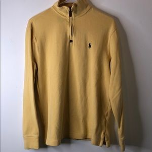 Ralph Lauren Polo Quarter-Zip Sweater